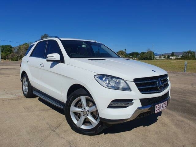 Used Mercedes-Benz ML250 W166 MY805 BlueTEC 7G-Tronic +, 2015 Mercedes-Benz ML250 W166 MY805 BlueTEC 7G-Tronic + Polar White 7 Speed Sports Automatic Wagon
