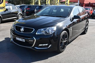 2015 Holden Commodore VF II MY16 SS V Sportwagon Redline Black 6 Speed Sports Automatic Wagon.