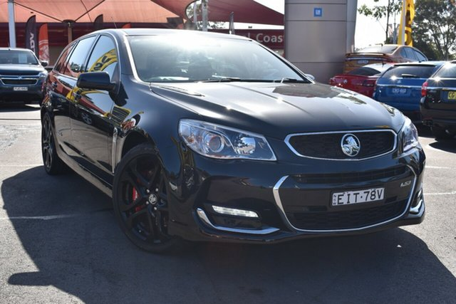 Used Holden Commodore VF II MY16 SS V Sportwagon Redline Tuggerah, 2015 Holden Commodore VF II MY16 SS V Sportwagon Redline Black 6 Speed Sports Automatic Wagon
