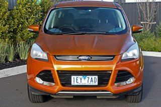 2015 Ford Kuga Orange Wagon