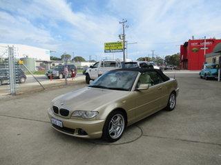2003 BMW 330Ci E46 330Ci Gold 5 Speed Automatic Convertible.