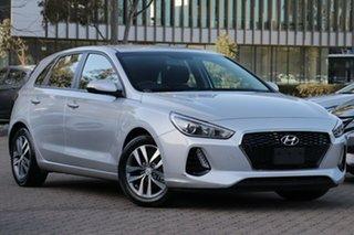 2018 Hyundai i30 PD Active Platinum Silver 6 Speed Auto Sequential Hatchback.