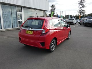 2014 Honda Jazz GF MY15 VTi Red 1 Speed Constant Variable Hatchback