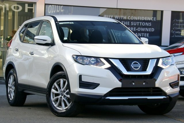 Used Nissan X-Trail T32 Series 2 ST 7 Seat (2WD), 2018 Nissan X-Trail T32 Series 2 ST 7 Seat (2WD) Ivory Pearl Continuous Variable Wagon