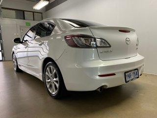 2010 Mazda 3 BL SP25 White 6 Speed Manual Sedan