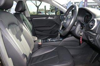 2016 Audi A3 8V MY17 1.4 TFSI Sportback CoD Black 7 Speed Auto S-Tronic Hatchback