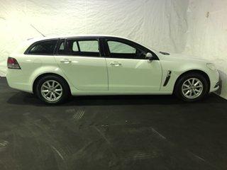 2013 Holden Commodore VF MY14 Evoke Sportwagon Heron White 6 Speed Sports Automatic Wagon