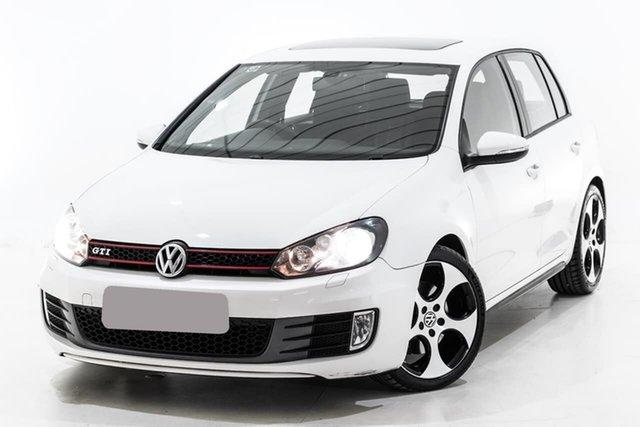 Used Volkswagen Golf VI MY10 GTI DSG, 2010 Volkswagen Golf VI MY10 GTI DSG White 6 Speed Sports Automatic Dual Clutch Hatchback