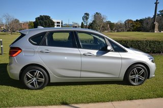 2014 BMW 218i F45 Active Tourer Sport Line Silver 6 Speed Automatic Wagon.