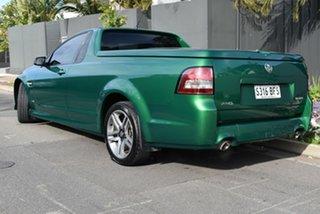 2011 Holden Ute VE II SV6 Green 6 Speed Manual Utility.