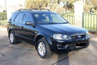 2009 Ford Territory SY MkII TX (RWD) Black 4 Speed Auto Seq Sportshift Wagon.