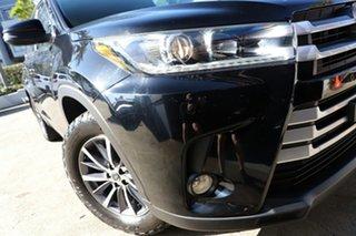 2018 Toyota Kluger GSU55R MY18 GXL (4x4) Eclipse Black 8 Speed Automatic Wagon.