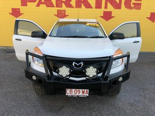 2013 Mazda BT-50 UP0YF1 XT Freestyle Silver 6 Speed Manual Cab Chassis.