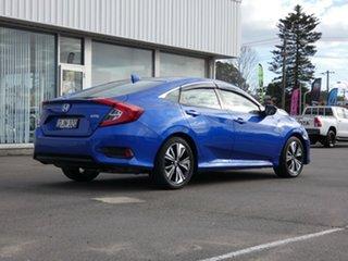 2016 Honda Civic 10th Gen MY16 VTi-L Blue 1 Speed Constant Variable Sedan