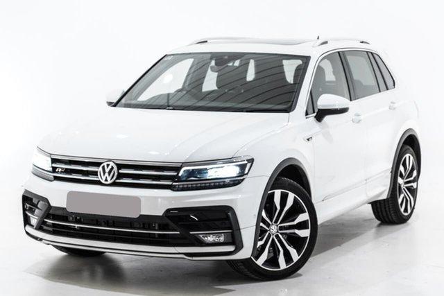 Used Volkswagen Tiguan 5N MY19.5 162TSI DSG 4MOTION Highline, 2019 Volkswagen Tiguan 5N MY19.5 162TSI DSG 4MOTION Highline White 7 Speed