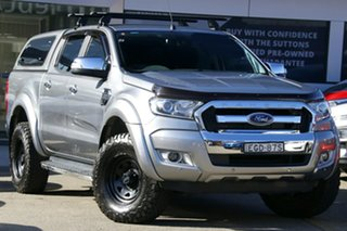 2016 Ford Ranger PX MkII XLT Super Cab Grey 6 Speed Sports Automatic Utility.