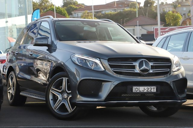 Used Mercedes-Benz GLE-Class W166 807MY GLE250 d 9G-Tronic 4MATIC, 2016 Mercedes-Benz GLE-Class W166 807MY GLE250 d 9G-Tronic 4MATIC Grey 9 Speed Sports Automatic