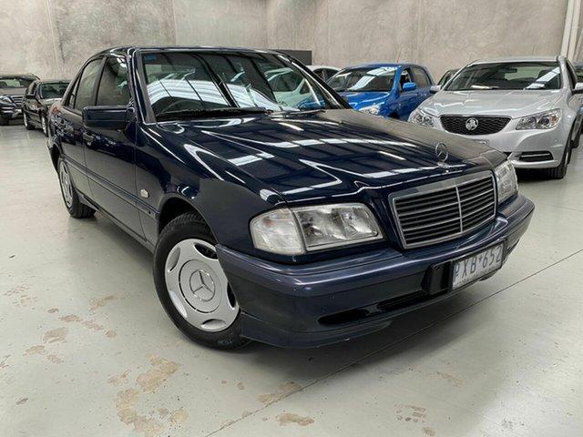 Used Mercedes-Benz C180 W202 Classic, 1999 Mercedes-Benz C180 W202 Classic Blue 5 Speed Automatic Sedan