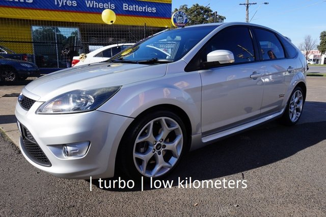 Used Ford Focus LV XR5 Turbo, 2009 Ford Focus LV XR5 Turbo Moondust Silver 6 Speed Manual Hatchback