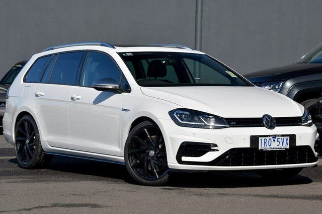 Demo Volkswagen Golf 7.5 MY20 R DSG 4MOTION, 2020 Volkswagen Golf 7.5 MY20 R DSG 4MOTION White 7 Speed Sports Automatic Dual Clutch Wagon