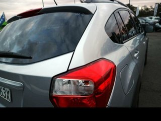 2012 Subaru XV MY13 2.0I-L Silver Continuous Variable Wagon