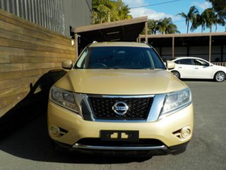 2014 Nissan Pathfinder R52 MY14 ST X-tronic 2WD Gold 1 Speed Constant Variable Wagon