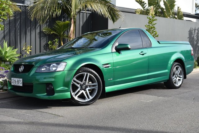 Used Holden Ute VE II SV6, 2011 Holden Ute VE II SV6 Green 6 Speed Manual Utility