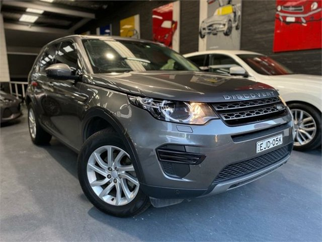 Used Land Rover Discovery Sport L550 TD4 150 SE, 2017 Land Rover Discovery Sport L550 TD4 150 SE Corris Grey Sports Automatic Wagon