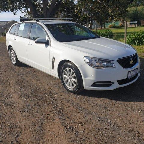 Used Holden Commodore VF Evoke, 2014 Holden Commodore VF Evoke White Sports Automatic Wagon