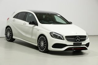 2016 Mercedes-Benz A250 176 MY16 Sport White 7 Speed Automatic Hatchback