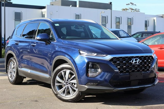 Used Hyundai Santa Fe TM.2 MY20 Elite, 2020 Hyundai Santa Fe TM.2 MY20 Elite Stormy Sea 8 Speed Sports Automatic Wagon