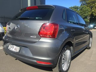 2017 Volkswagen Polo 6R MY17 66TSI DSG Trendline Grey 7 Speed Sports Automatic Dual Clutch Hatchback
