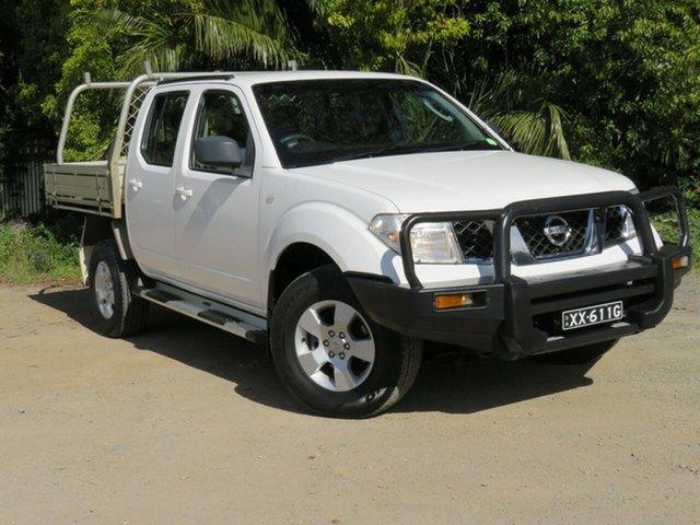 Used Nissan Navara D40 RX, 2010 Nissan Navara D40 RX White 6 Speed Manual Utility