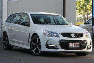 2016 Holden Commodore VF II MY16 SV6 Sportwagon Black White 6 Speed Sports Automatic Wagon.