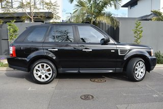 2009 Land Rover Range Rover Sport L320 09MY TDV6 Black 6 Speed Sports Automatic Wagon