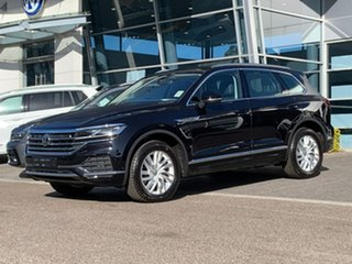 2019 Volkswagen Touareg CR MY20 190TDI Tiptronic 4MOTION Black 8 Speed Sports Automatic Wagon.