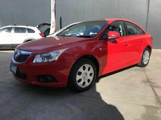 2012 Holden Cruze JH MY12 CD Red 6 Speed Automatic Sedan.