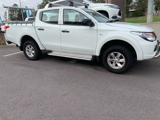 2017 Mitsubishi Triton MQ MY17 GLX+ Double Cab White 5 Speed Sports Automatic Utility