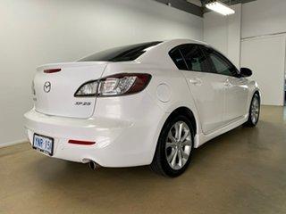 2010 Mazda 3 BL SP25 White 6 Speed Manual Sedan.