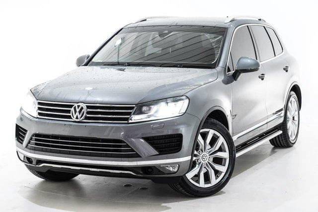 Used Volkswagen Touareg 7P MY16 V6 TDI Tiptronic 4MOTION, 2016 Volkswagen Touareg 7P MY16 V6 TDI Tiptronic 4MOTION Grey 8 Speed Sports Automatic Wagon