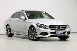 2015 Mercedes-Benz C250 205 Silver 7 Speed Automatic Sedan.