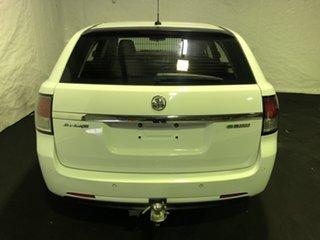 2013 Holden Commodore VF MY14 Evoke Sportwagon Heron White 6 Speed Sports Automatic Wagon.