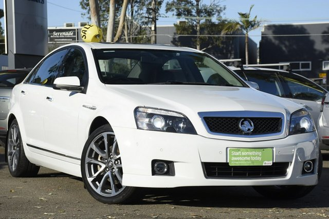 Used Holden Caprice WN II MY16 V, 2016 Holden Caprice WN II MY16 V White 6 Speed Sports Automatic Sedan