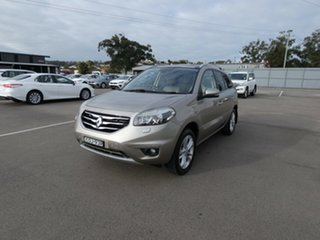 2012 Renault Koleos H45 Phase II Privilege Gold 1 Speed Constant Variable Wagon.