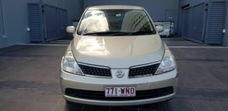 2009 Nissan Tiida C11 MY07 ST Gold 4 Speed Automatic Hatchback.