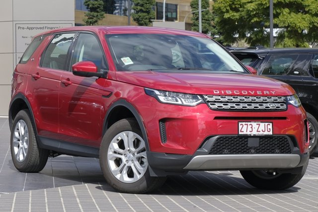 Demo Land Rover Discovery Sport L550 20MY D150 S, 2019 Land Rover Discovery Sport L550 20MY D150 S Firenze Red 9 Speed Sports Automatic Wagon