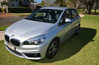 2014 BMW 218i F45 Active Tourer Sport Line Silver 6 Speed Automatic Wagon