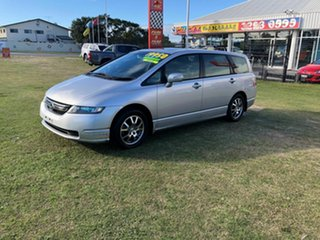 2007 Honda Odyssey 3rd Gen MY07 Luxury Silver 5 Speed Sports Automatic Wagon.