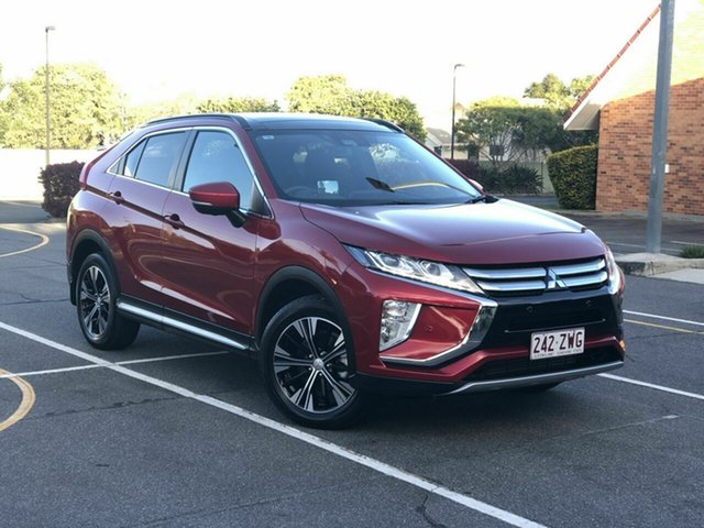 Used Mitsubishi Eclipse Cross YA MY19 Exceed 2WD, 2018 Mitsubishi Eclipse Cross YA MY19 Exceed 2WD Red 8 Speed Constant Variable Wagon