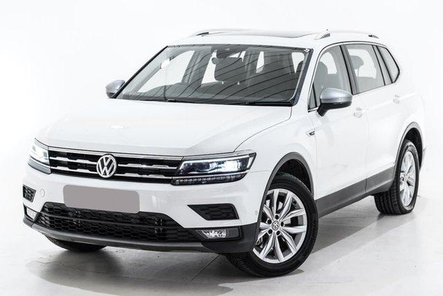 Used Volkswagen Tiguan 5N MY20 132TSI Comfortline DSG 4MOTION Allspace, 2019 Volkswagen Tiguan 5N MY20 132TSI Comfortline DSG 4MOTION Allspace White 7 Speed